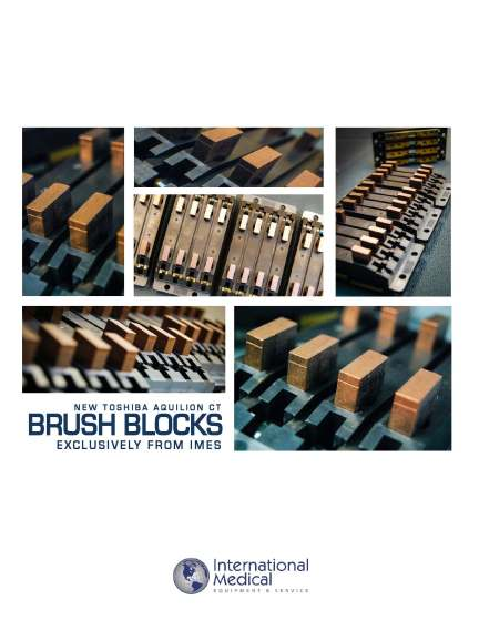 IMES Toshiba Brush Block Marketing