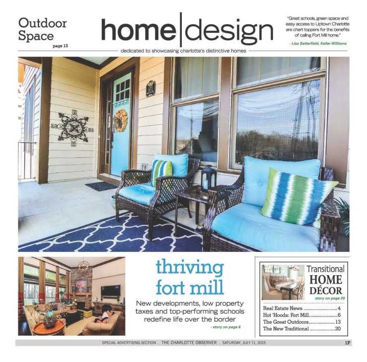 Charlotte Observer, Saturday, July 11, 2015 - ActivePaper Daily by Olive Software